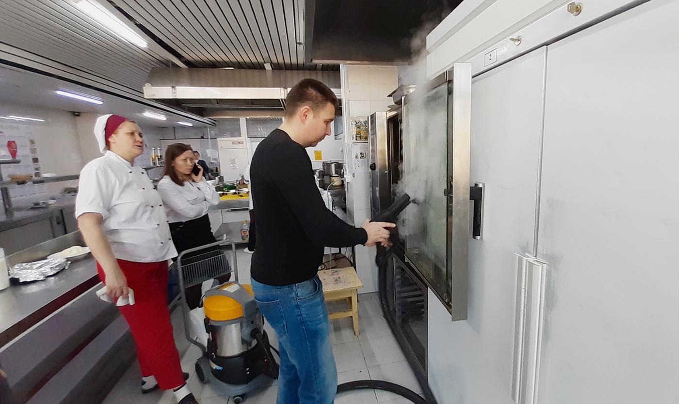 Применение парогенератора для уборки